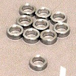 Alloy washer  2 mm/M4, 10 pcs.