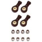 Ball ends for damper, 4 pcs.