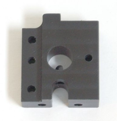 Support front right, CNC-milled plastic