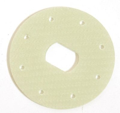 Brake disc epoxy for mechanical brakes