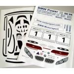 Dekorbogen BMW ALMS
