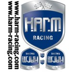 Aufklebesatz H.A.R.M. Racing
