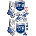 Aufklebesatz H.A.R.M. SX-4