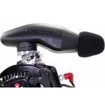 Airbox touringcar, N.R.G., plastic, black with 10° Adapter
