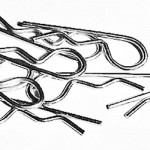 Car shell clips 10 pcs