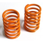 Spring short (front) Big Bore linear orange, medium, 2 pcs.