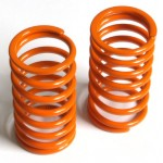 Feder lang (hinten) Big Bore progressiv, orange, medium, 2 Stk.