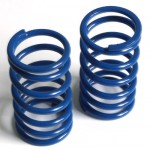 Spring long (rear) Big Bore progressive, blue, very hard, 2 pcs.