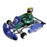 H.A.R.M. Racing Kart RK-1E e-Drive Chassiskit Bausatz