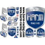 Decal H.A.R.M. Racing complete with SX-5 logo