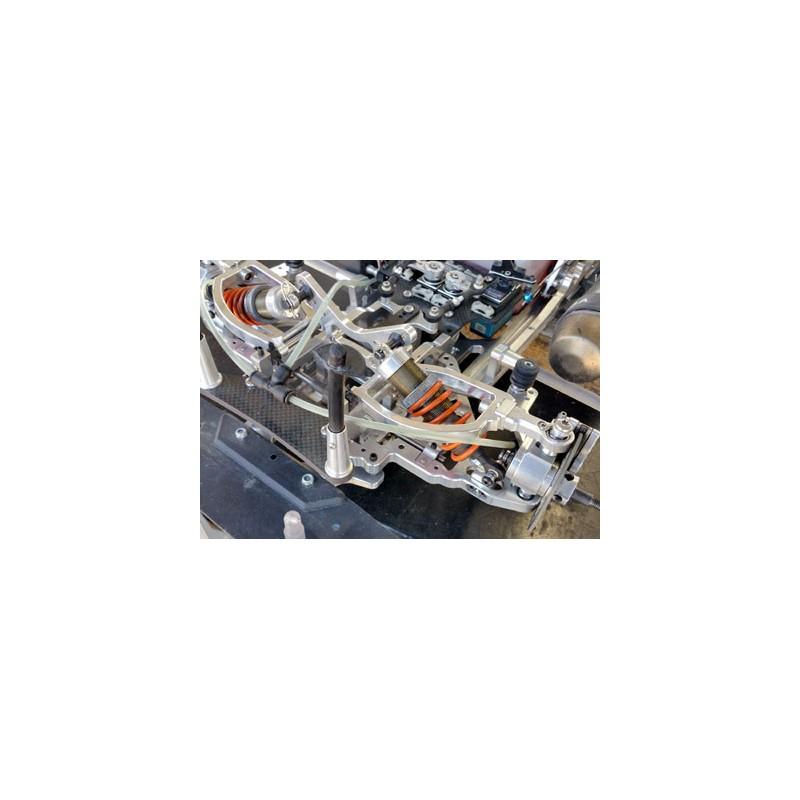 Tuning-Stoßdämpferhalter vorne unten mit Querlenker Set, SX-5/EX-5/SX-4