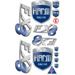 Aufklebesatz H.A.R.M. FX-3
