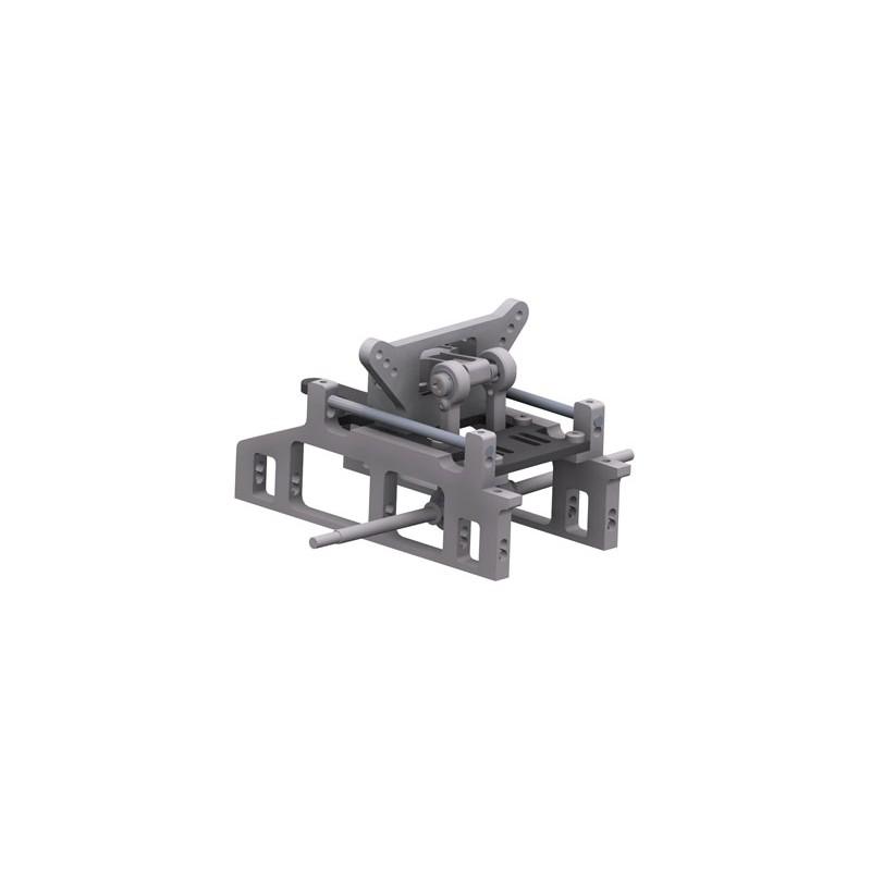 Conversion kit front axle SX-5S, set
