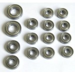 Ball bearing set for H.A.R.M. SX-4 15 pcs