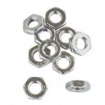 Hexagon nut M8, right thread 10 pcs