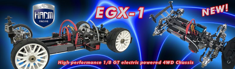 EGX-1 4WD electric power 1/8 GT Chassis