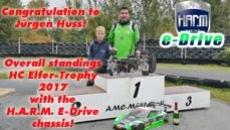 Gesamtsieg HC Elfer-Trophy 2017 mit dem H.A.R.M. E-Drive Chassis!