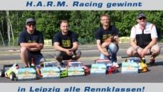 Super erfolgreiches Wochenende für H.A.R.M. Racing in Leipzig!